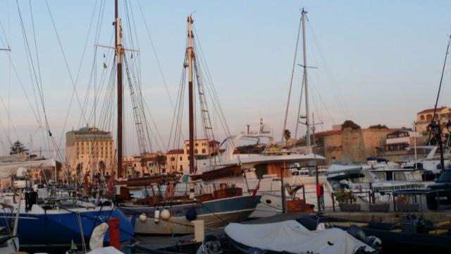 Andrea's berth in Aquatica Marina