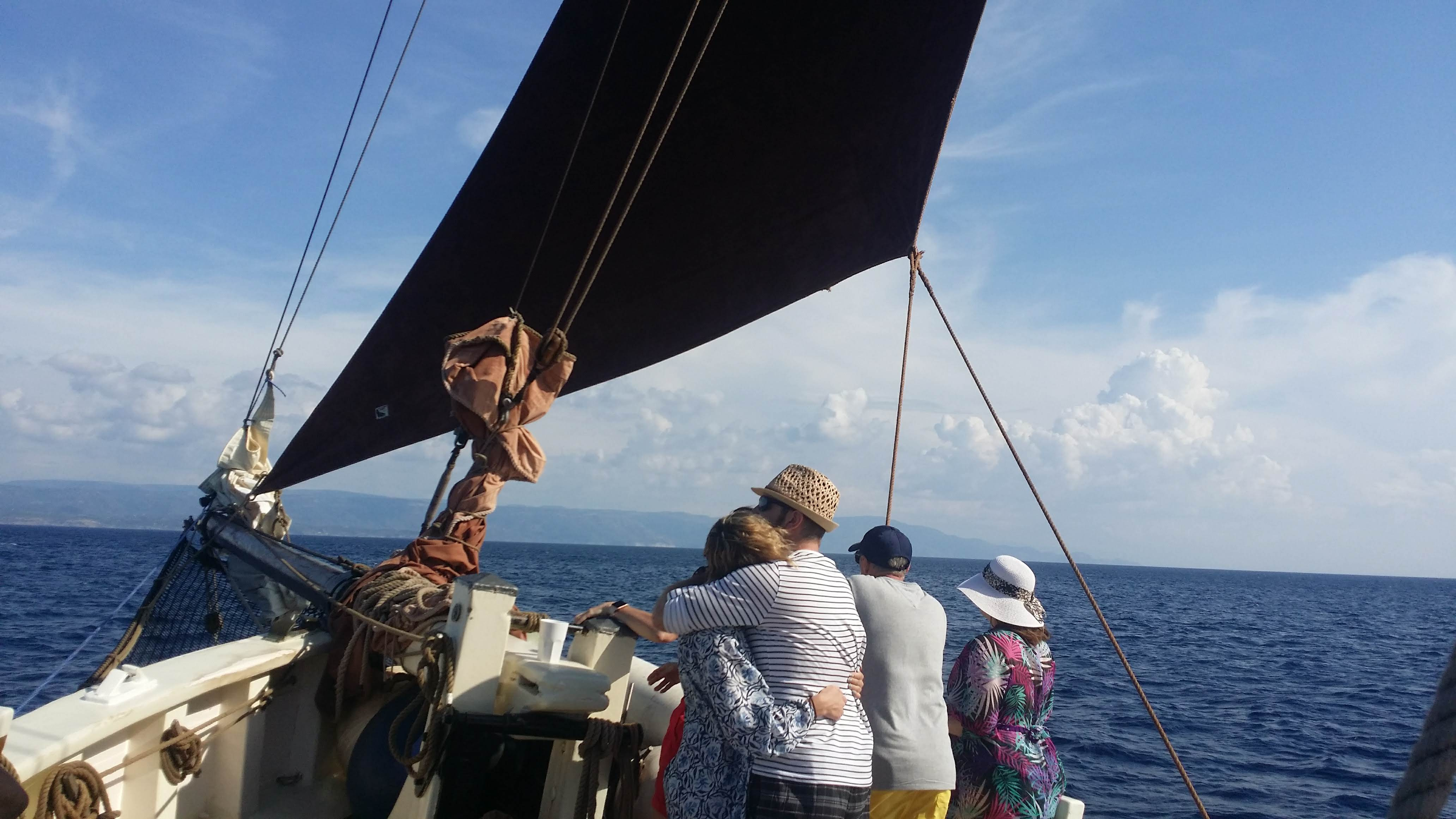 Traditional sailing is so romantic
