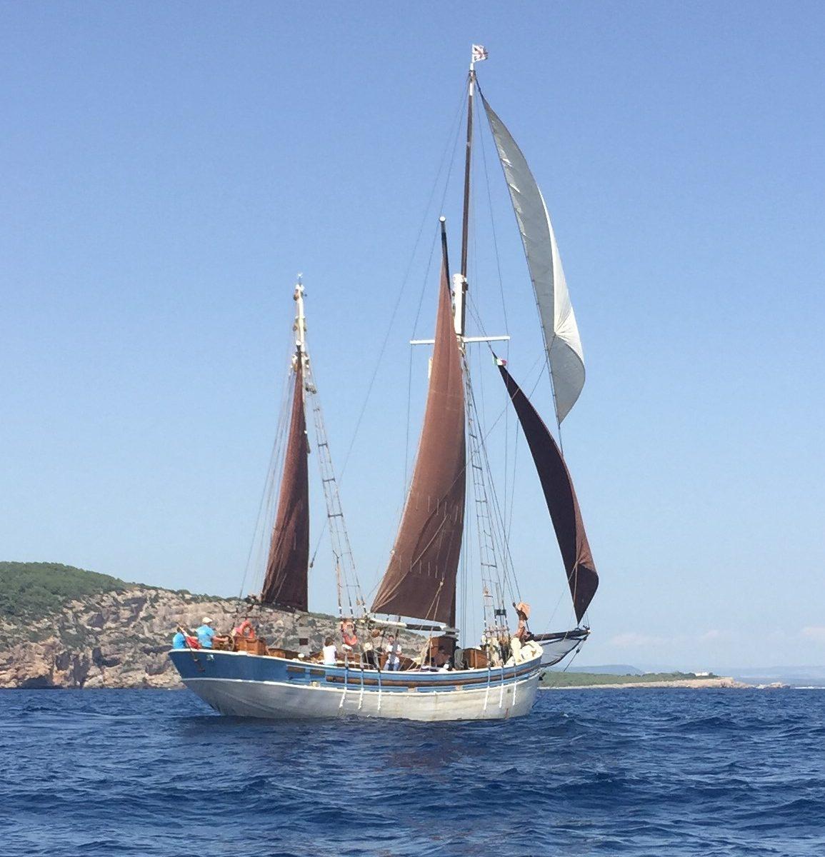 Blue Skies on Board Andrea Jensen