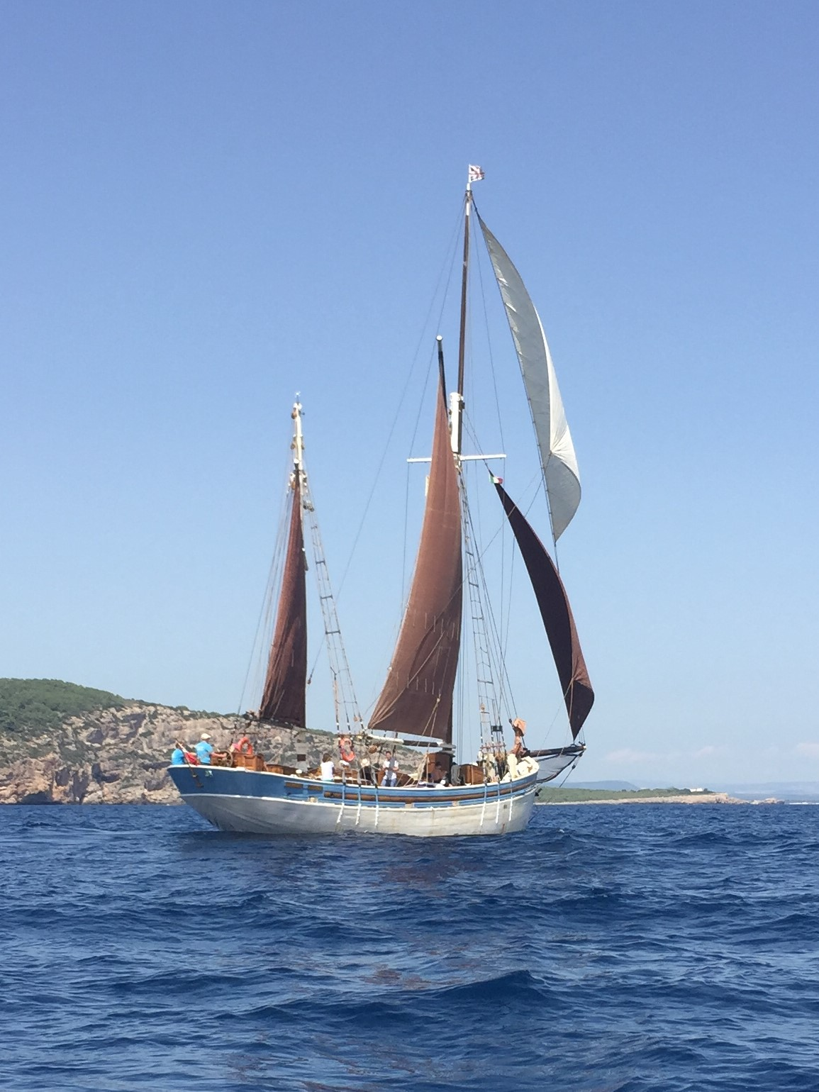 Classic sailing with Andrea Jensen